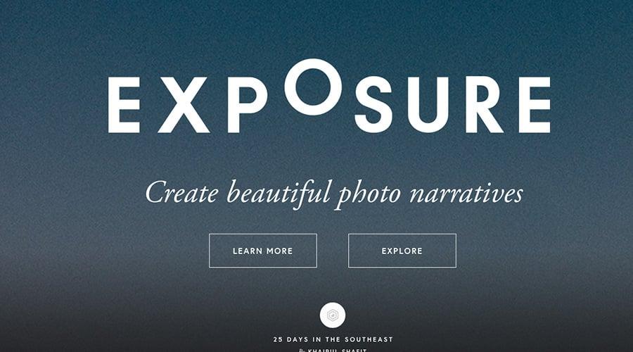 Exposure Fotoğraf Sitesi