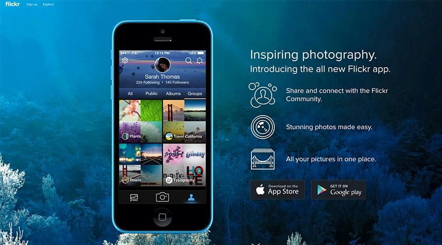 Flickr Fotoğraf Sitesi