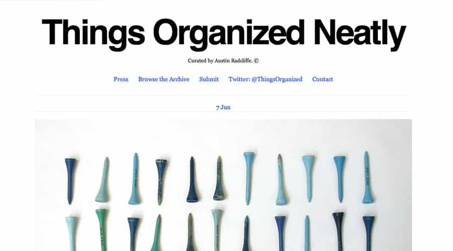 Things Organized Neatly Fotoğraf Sitesi